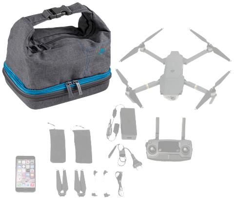 RIVACASE Priedai Drohnen »Drone Krepšys su regu...