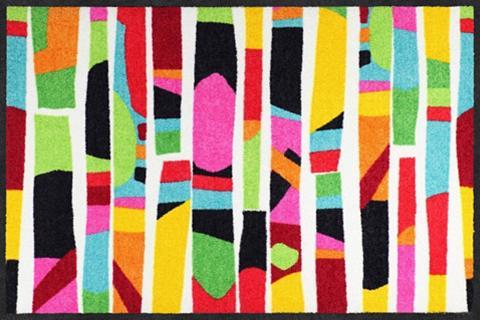 SALONLOEWE Durų kilimėlis »Colour Rhythm« rechtec...
