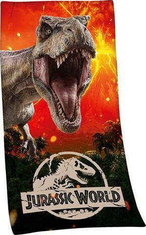 Rankšluostis »Jurassic World«