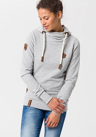 NAKETANO Sportinis megztinis su gobtuvu »Schöne...