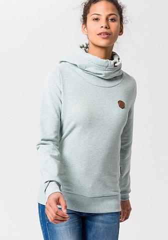 NAKETANO Sportinis megztinis su gobtuvu »Ralle ...