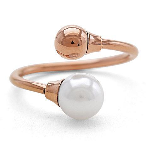 VIVANCE Žiedas su perlais »Perle«