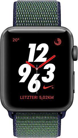APPLE Nike+ Series 3 GPS + Cellular Aluminiu...