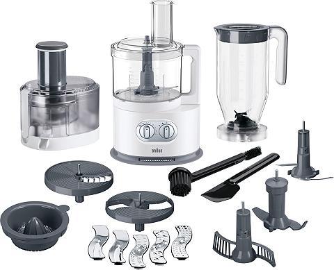 Braun Küchenmaschine FP 5160 1000 W 2 l Schü...