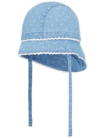 NAME IT Taškuotas Sommer skrybėlė