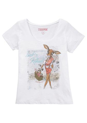 STOCKERPOINT Marškinėliai Moterims su gesticktem De...