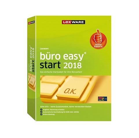LEXWARE Büro easy start 2018 »Jahresversion (3...