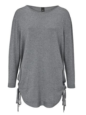 heine CASUAL Ilgas megztinis su raišteliais ir kiše...