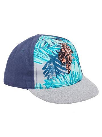 NAME IT Tiger raštas Kepurė su snapeliu