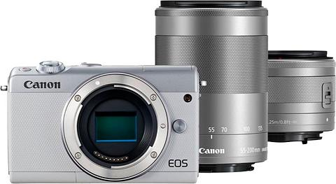CANON »EOS-M100 M15-45 S+M55-200 S EU26« Sis...
