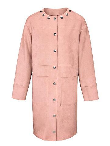 heine STYLE Dirbtinės odos paltas