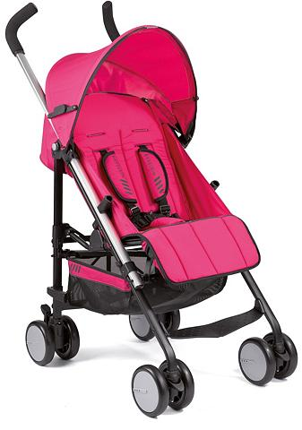 Gesslein Kinder-Buggy »S5 4+4 Pink« su schwenkb...