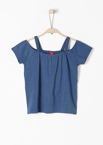 S.OLIVER RED LABEL JUNIOR Off marškinėliai apnuogintais pečiais ...