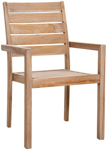 BEST Poilsio kėdė »Moretti« Teakholz stapel...