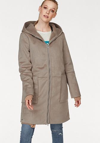 GREYSTONE Dirbtinės odos paltas