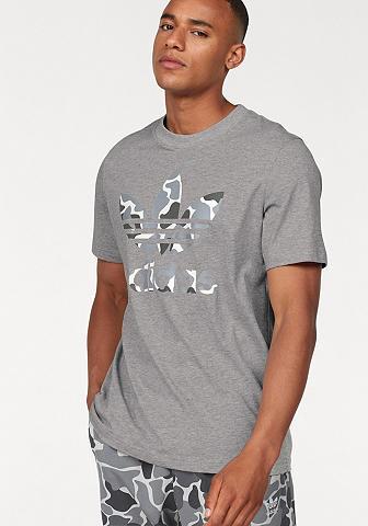 ADIDAS ORIGINALS Marškinėliai »CAMO TREFOIL TEE«