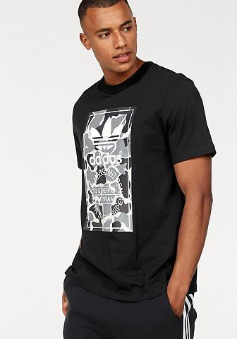 ADIDAS ORIGINALS Marškinėliai »CAMO LABEL TEE«
