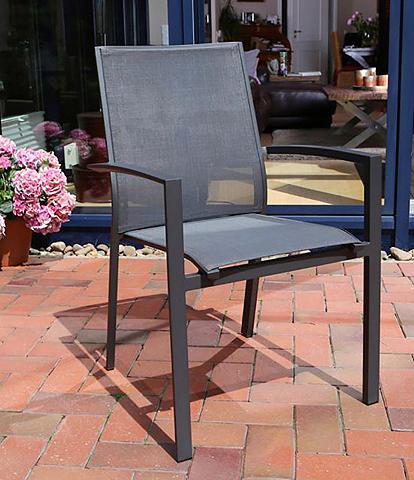 DESTINY Sodo kėdė »PALMSPRINGS« Textil/Alu sta...