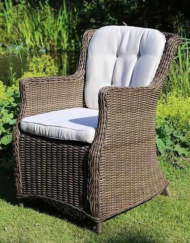 DESTINY Sodo kėdė »LUNA« Polyrattan ir užvalka...