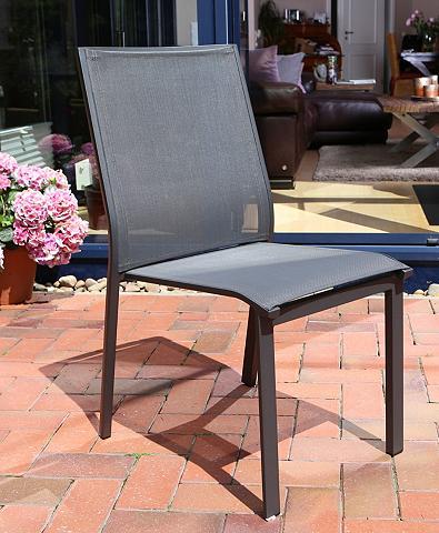 DESTINY Poilsio kėdė »PALM SPRINGS« Alu/Textil...