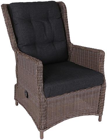 DESTINY Sodo kėdė »CASA« Polyrattan kočėlas ir...