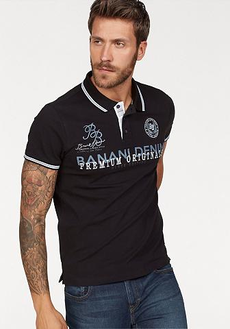 Bruno Banani Polo marškinėliai su Markenbadge