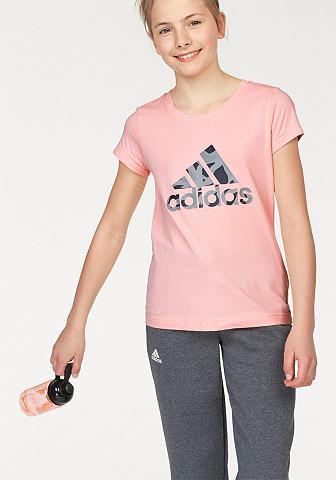 ADIDAS PERFORMANCE Marškinėliai »YG LOGO TEE«