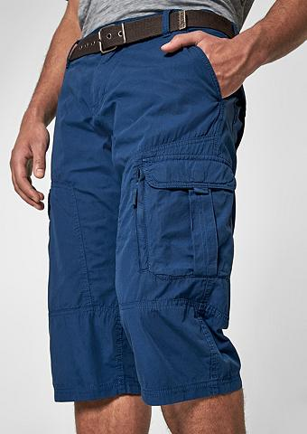 S.OLIVER RED LABEL File Loose: Garment Dye šortai