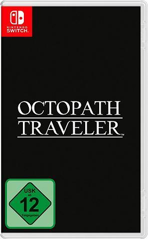 NINTENDO SWITCH Octopath Traveler Nintendo Šakotuvas