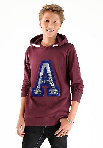 ARIZONA Sportinis megztinis su gobtuvu