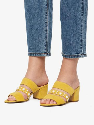 BIANCO Perlenriemen sandalai