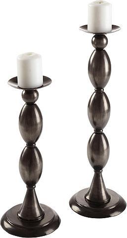 HOME AFFAIRE Žvakidė iš metalas 2-iejų vienetų rink...