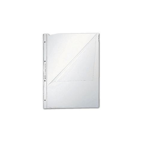 LEITZ Prospekthüllen »Premium 4744« A4 glask...