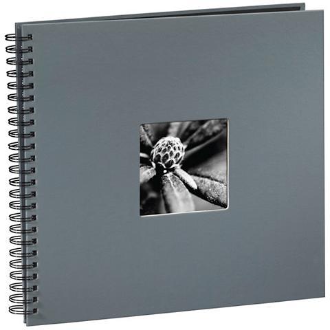 HAMA Albumas įrištas spirale Fine Art Grau ...