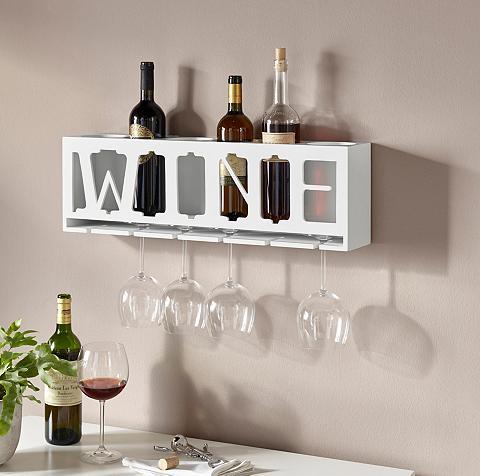 HOME AFFAIRE Weinhalter »Wine« dėl die Wand su Aufh...