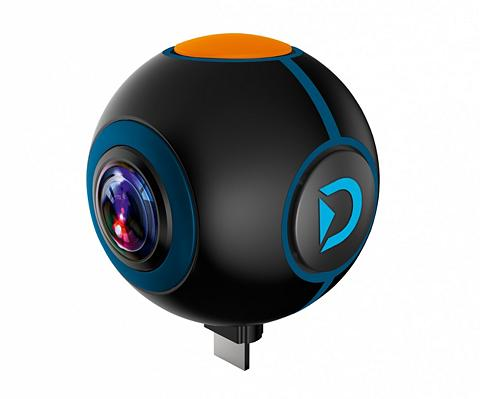 Discovery Adventures Action Cam »Spy HD 1024P 720° dėl Andr...