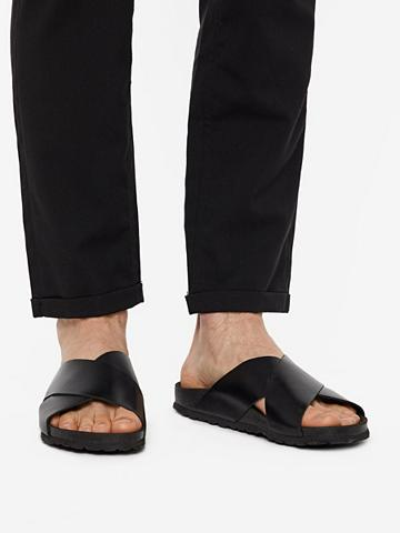BIANCO Herren Kreuzriemen sandalai