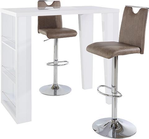 STEINHOFF Baro staliukas »Brandon« ir 2 baro kėd...