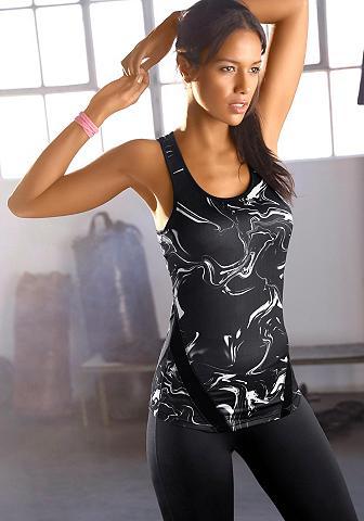 ACTIVE BY LASCANA Marškinėliai be rankovių »Black Marble...