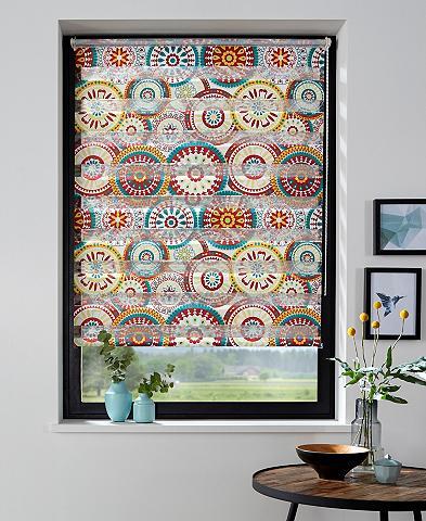 MY HOME Ritininė užuolaida »Colorful Circle« L...