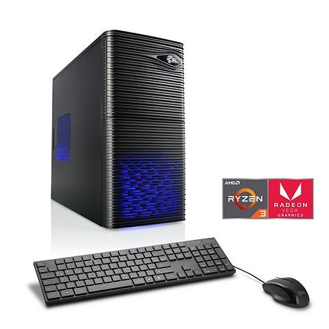 CSL Žaidimų PC   AMD Ryzen 3 2200G   Vega ...