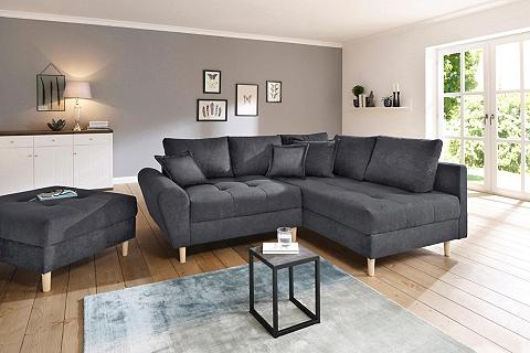 HOME AFFAIRE Kampinė sofa »Rice« incl. Kojų kėdutė ...