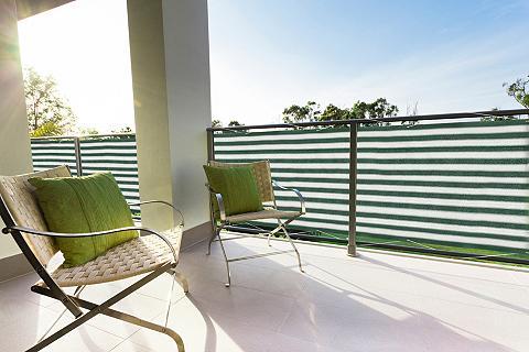 PEDDY SHIELD Balkono sienelė BxH: 500x90 cm grün/we...