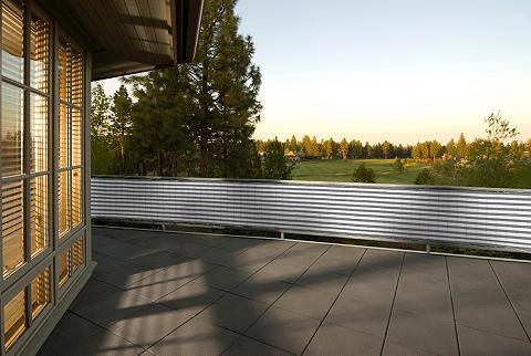 PEDDY SHIELD Balkono sienelė Bx H: 500x90 cm grau/w...