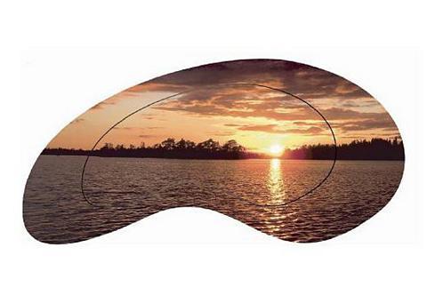 HOME AFFAIRE Paveikslas »Sonnenuntergang ant Meer«