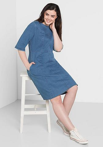 SHEEGO DENIM Sheego Džinsai džinsinė suknelė