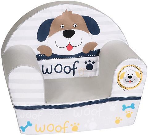 KNORR TOYS Vaikiškas fotelis »Woof«