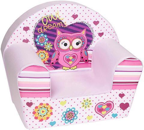 KNORR TOYS Vaikiškas fotelis »Owl«