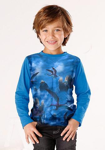 KIDSWORLD Marškinėliai ilgomis rankovėmis »Dinos...