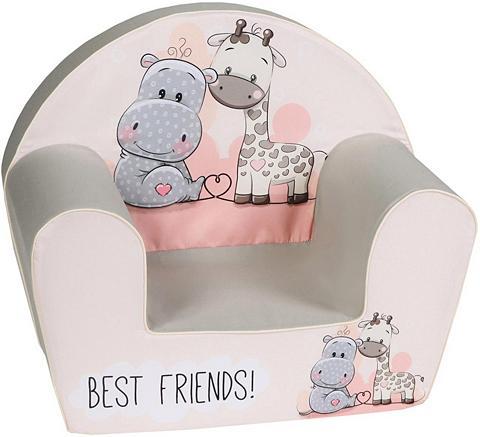 KNORR TOYS Vaikiškas fotelis »Best Friends«